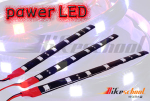 [J3603]-POWER LED 6발 레드 [12V,15cm]